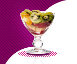 1 coupelle de salade de fruits